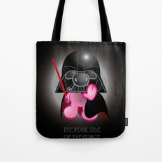 Berto: The Mental-issue pig trying Darth Vader costume Tote Bag