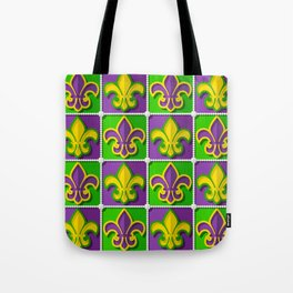 Mardi Gras  pattern Tote Bag