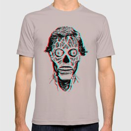 They Live 3D T-shirt