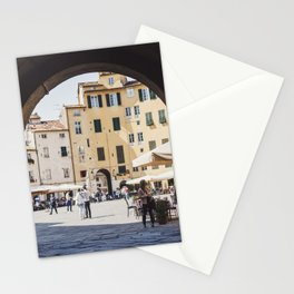 Tuscan Piazza Stationery Cards