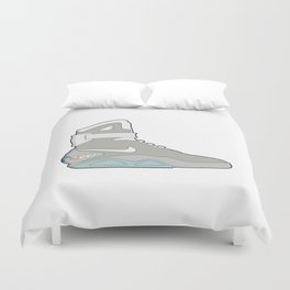 Air Mag grey - back to the future Duvet Cover
