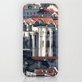 Lisbon Portugal Roof Tops iPhone Case