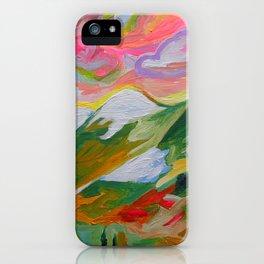 Coquihalla Sunrise iPhone Case