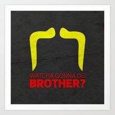 Brother Art Print