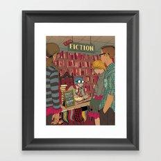 Man in Costume Framed Art Print