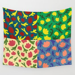 Floral 4 Wall Tapestry