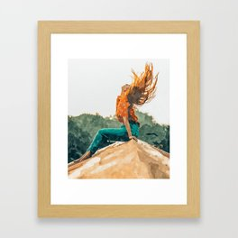 Live Free #painting Framed Art Print