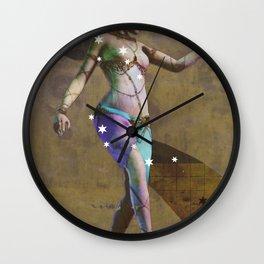 Fatale - Salomé - Gold Wall Clock