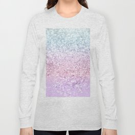 Unicorn Girls Glitter #4 (2019 Version) #shiny #pastel #decor #art #society6 Long Sleeve T-shirt