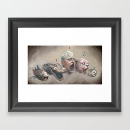 Arr Framed Art Print