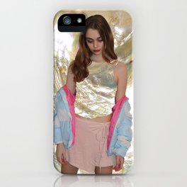Mother of Pearl Edit iPhone Case