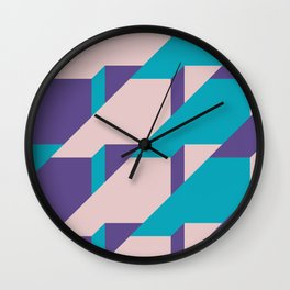 Abstract Glow #society6 #glow #pattern Wall Clock