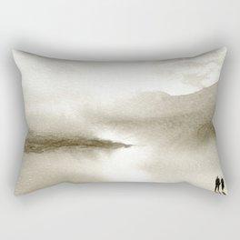 Sepia Light Rectangular Pillow