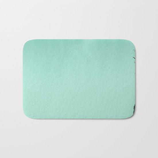 Silver Mint Pineapple Bath Mat