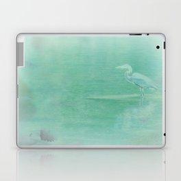Blue Heron - collage Laptop & iPad Skin