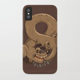 Chase Your Tail Forever iPhone Case