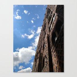 Building the Sky Canvas Print