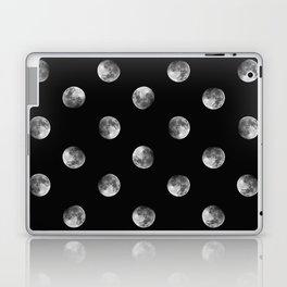 Lunar Moon - black Laptop & iPad Skin