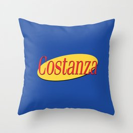 Costanza I Throw Pillow