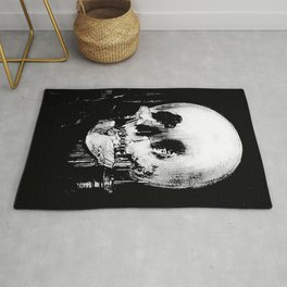 All Is Vanity: Halloween Life, Death, and Existence Rug