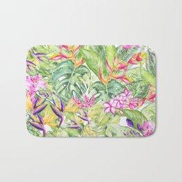 Tropical Garden 1A #society6 Bath Mat