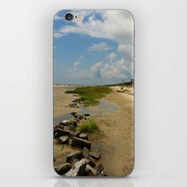 The Golden Islands Beauty iPhone Skin