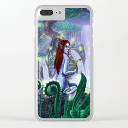 The Golden Harp Clear iPhone Case