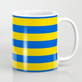 Asturias Sweden Ukraine European Union flag stripes Coffee Mug