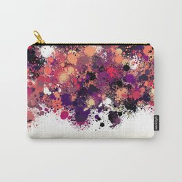 paint splatter on gradient pattern bbbry Carry-All Pouch