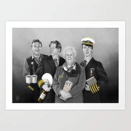 Cabin Crew Art Print