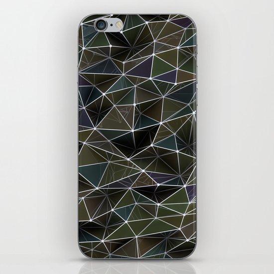 Abstract Digital Waves iPhone & iPod Skin