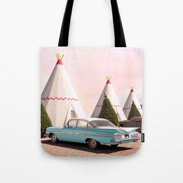 Wigwam Motel Tote Bag