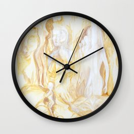 sepia II Wall Clock