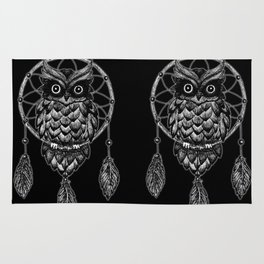 Dream Catcher Owl Rug