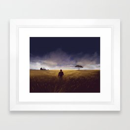 Homecoming I Framed Art Print