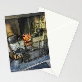 Olde Kitchen Fire Stationery Cards
