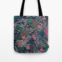 Blossom Blizzard Tote Bag