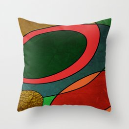 Abstract #325 Throw Pillow