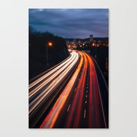 portlandia Canvas Prints featuring Gateway to Portlandia by Djambel Unkov - KOV The Photographer