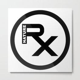 Rx Logo Metal Print