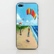 Skydive Beach Landing iPhone & iPod Skin