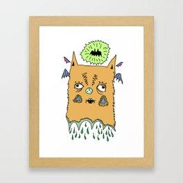 Murciélago#4 Framed Art Print