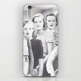woolly women iPhone Skin