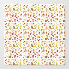 Rosaful Mango pattern Canvas Print