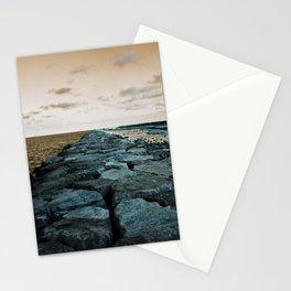 Barnegat Light 2 (jetty) Stationery Cards