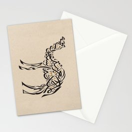 Camel Zoomorphic Calligraphy Stationery Cards