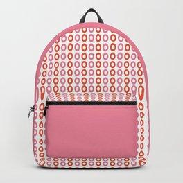 Rose Orange 01 Backpack
