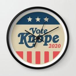 Vote Knope Wall Clock