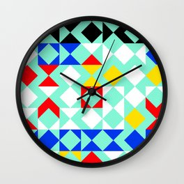 Geometric XVI Wall Clock