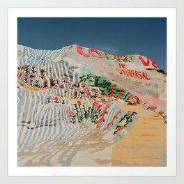 Salvation Mountain III Art Print